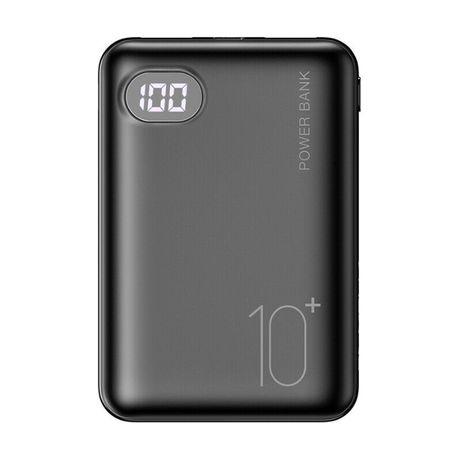 Baterie Externa 10000mah + 2 porturi USB + display. Noua!
