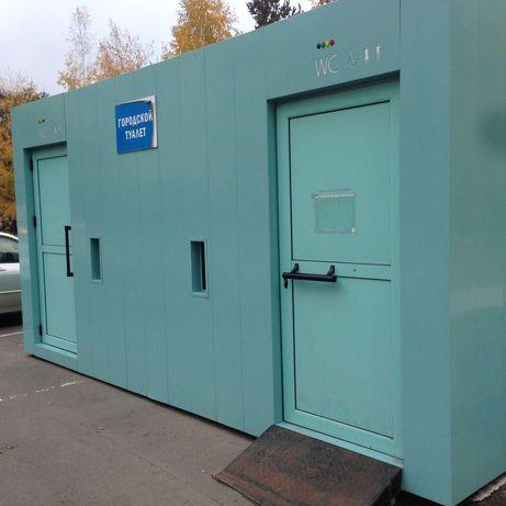 Туалетный модуль из контейнера