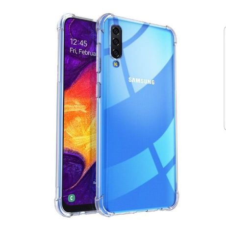 Прозрачен Силиконов Кейс Samsung A30s A40 A50 A70 A7 A51 A41 A71 A80