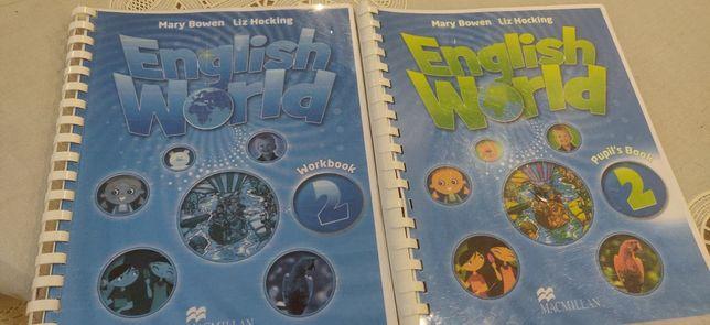 Учебник и тетрадь по английскому языку English World