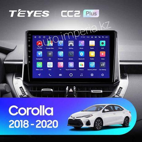 Автомагнитолы Андроид на Toyota Corolla