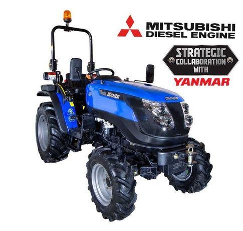 Tractor Solis 26 4WD - 26CP (Wider Agri) NOU 24 luni garantie