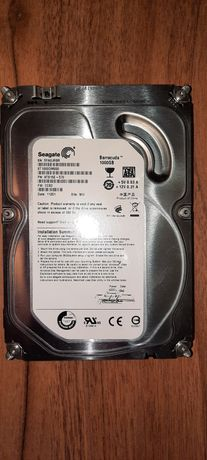 "HDD 3.5"" Seagate 1TB Defect"