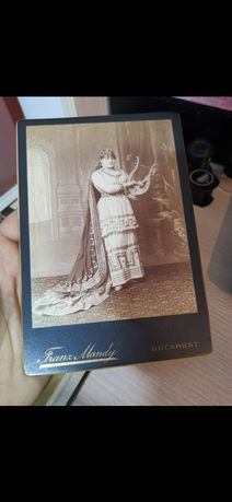 Fotografie Franz Mandy fotograf al curți Regale - portret Regina