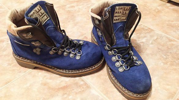 Есенни обувки сини