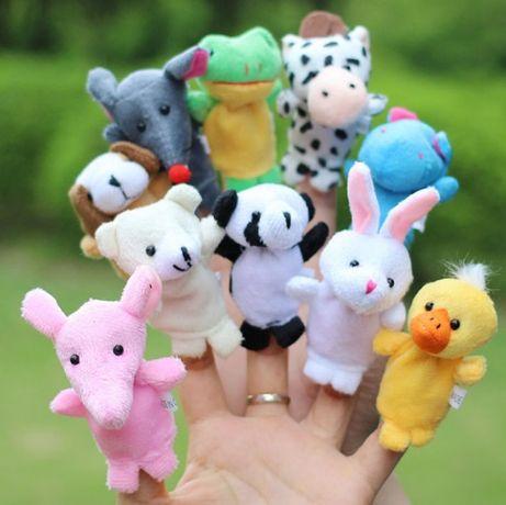 Забавни кукли или животни на пръсти