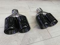 Tipsuri ornamente toba evacuare AKRAPOVIC carbon/finale duble BMW M