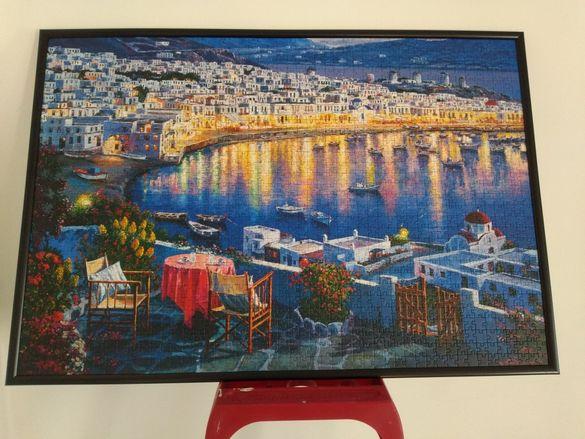 Картина , пъзел , о. Миконос , Гърция