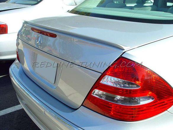 Лип спойлер за Mercedes C E и S-class