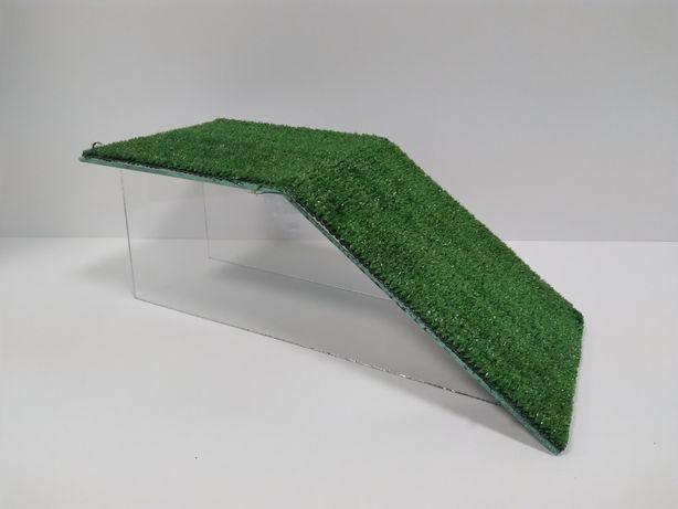 Мостик для черепахи с травой 420×200×160мм