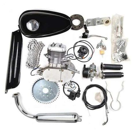 Велодвигател, двигател за колело, бензинов 50, 80, 100цц кубика
