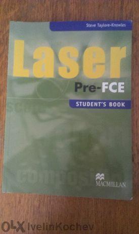 Laser Pre-fce - Учебник и учебна тетрадка по английски език