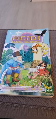 Cartea Heidi fetita muntilor noua