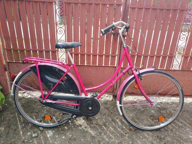 Bicicleta D-Rad roz femei roti 26' piese ft bune