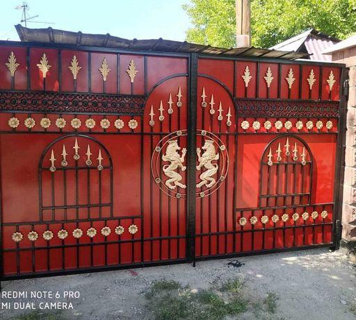 Покраска ворот и заборов