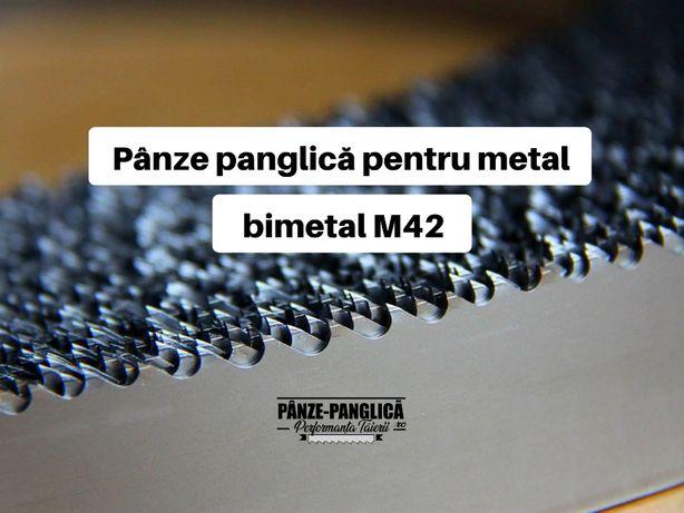 Panza panglica banzic bimetal 1638x13x0,65, fierastrau cu banda Epple