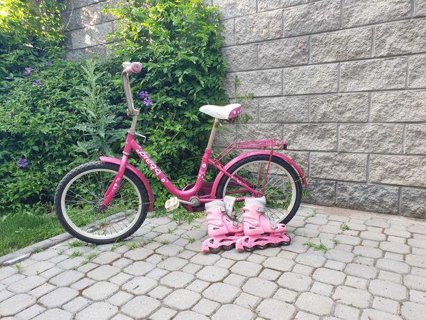 Продам велосипед б/у для девочки 5-8 лет