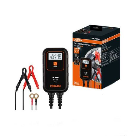 Зарядно за акумулатор Automat, Зарядно 904, 6V, 12V, Черно