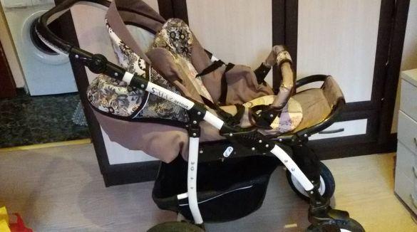 Бебешка количка S-max Retrus 2 в 1