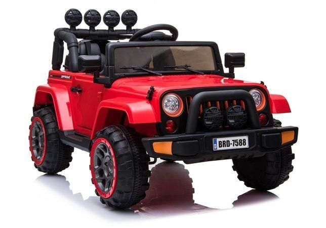 Kinderauto Jeep BRD-7588 STANDARD 12V #Rosu
