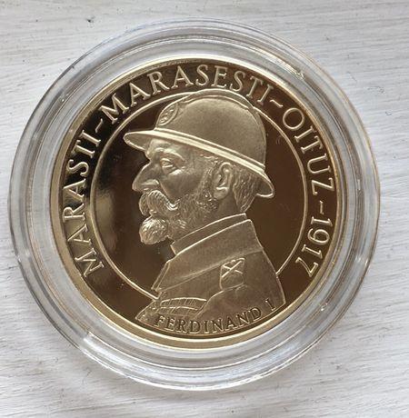 Schimb moneda 50 bani proof Mărăști Mărășești Oituz