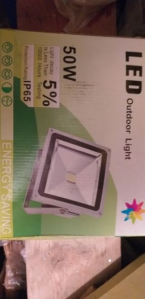 Лед светодиоден прожектор 50w 1бр, LED