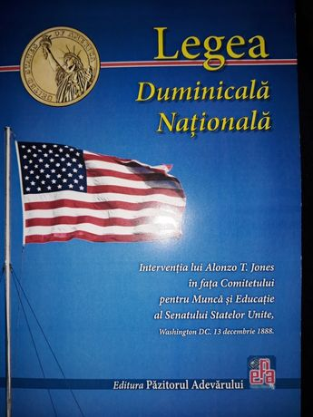 """Cartea """" Legea Duminicală Națională"""""""
