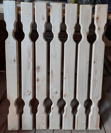 Element / Piese lemn gard, balustrada, terasa, balcon
