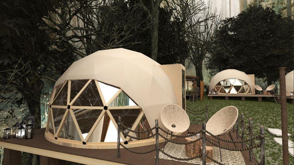 Сглобяеми куполни къщи