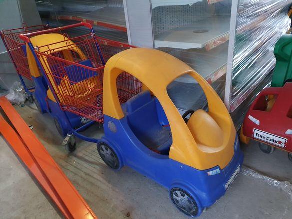 Детски колички за супермаркет Wanzl