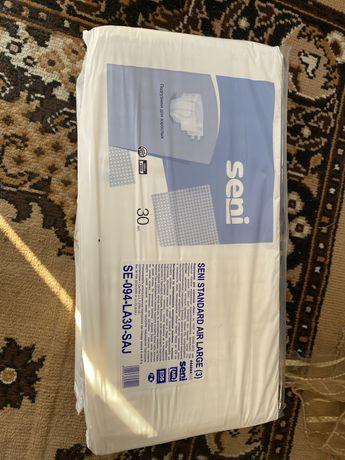 Продам взрослые памперсы Seni,новые в упаковке 30 штук