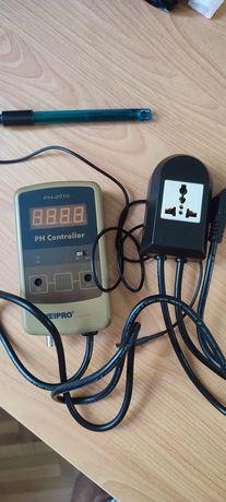 Accesorii acvariu: ph controller, fundal, grote, roca vulcanica, lampi
