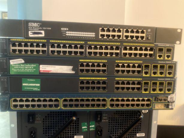 Switch Cisco Catalyst 3550, 2960G, 2960, SMC1016DT