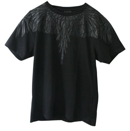 Tricou MARCELO BURLON,original,nou,M,cu piele,nu moschino,nike,ds2,