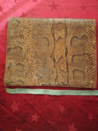 Дамска чанта от естствена змииска кожа от Боа!