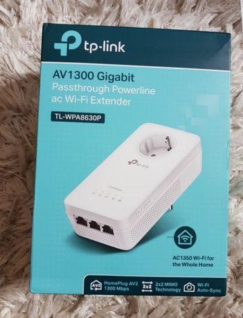 Powerline TP-Link TL-WPA8630P, AV1300 3-port Gigabit, Dual-Band costa