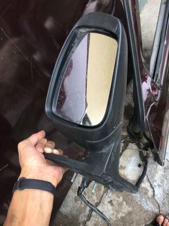 Боковое правое зеркало заднего вида Nissan Almera 2014г g15