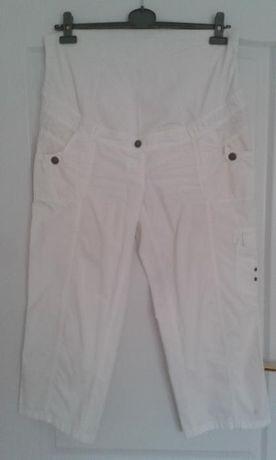 Pantaloni albi ¾ C&A 42
