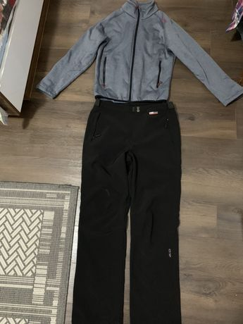 Pantaloni Outdoor + Polar CMP damă + caciula CMP cadou marimea M