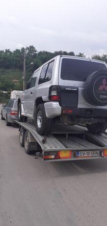 Transport auto trailer Suceava. Tractari ,transport utilaje platforma