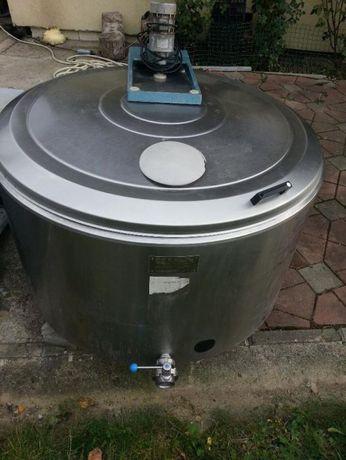 tanc de racire , racitor de lapte pana la 2400 l, pompe de vid