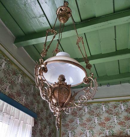 Candelabru tip lampa (pe petrol) vechi