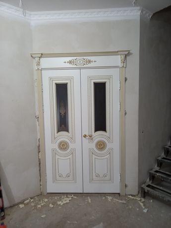 Установка дверей межкомнатные и железный вскрытие замка