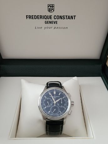 Frederique Constant Chronograph Flyback Manufacture