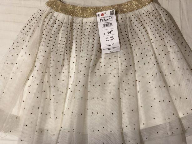 Продам новую детскую юбку