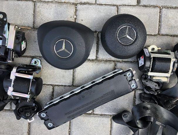 Mercedes Benz w205 c class kit airbag volan amg pasager picioare w213