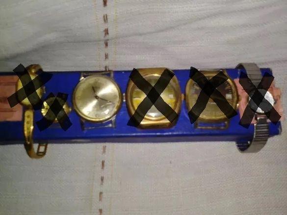 Продавам колекция от мъжки и дамски ръчни часовници