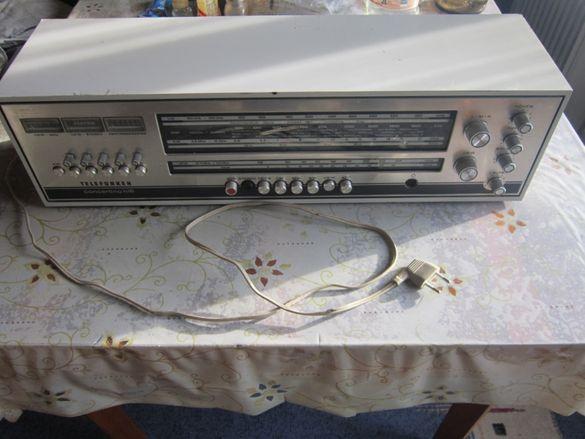 Уредба дек касетофон радио Телефункен