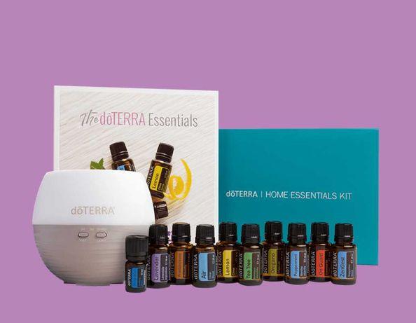 Kit Home Essentials- 10 uleiuri esențiale cu grad terapeutic + difuzor