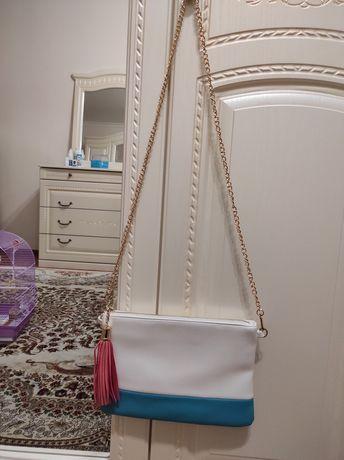 Маленькая женская сумочка из ЭКО кожи